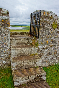 Stairway to the Clouds in Clonmacnoise