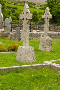 West Coast of Clare church cemetary