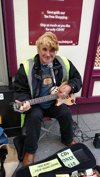 Kinsale Street Performer