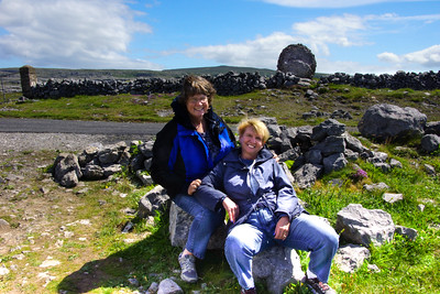 Bridget & Maura on West Coast of Clare