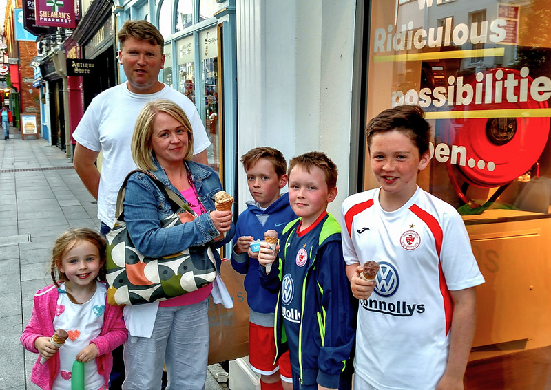 Kinsale Ice Cream  Treat