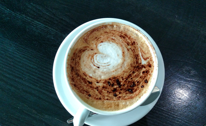 Last Great Cup of Cappuccino at Dublin Airport