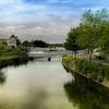 Galway City. A river runs through it.