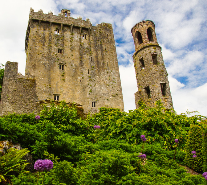 To Kiss the Blarney Stone; Climb the Long, Skinny, Swirly Staircase to the Top