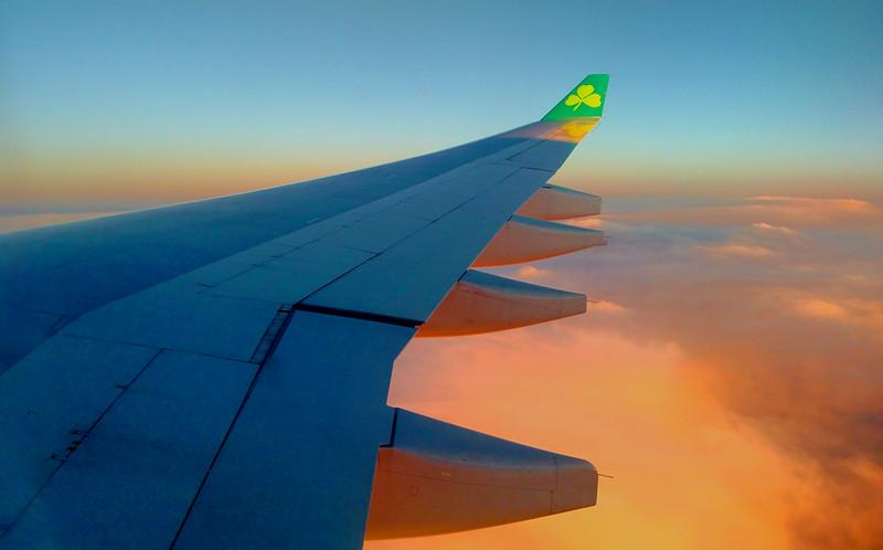 Flight into Dublin