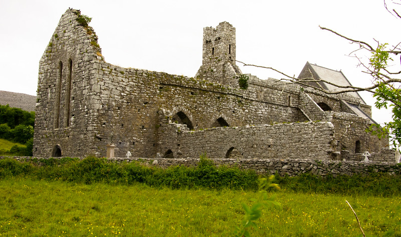 West Coast of Clare Church Ruins