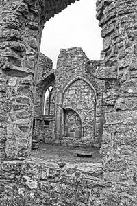 Clonmacnoise Castle Ruins Depth & Texture