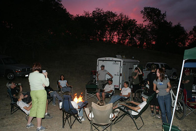 Locals Camping at Parkfield