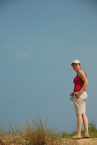 Helen on a Dune