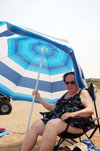 Aunt Betty on the Beach