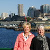 Bridget and Twink on Ferryboat to Bainbridge Island