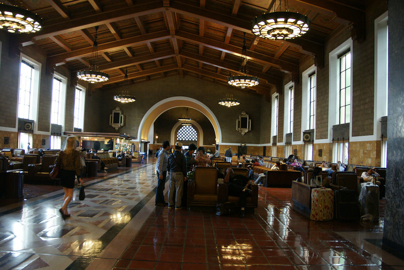 Union Train Station Los Angeles CA