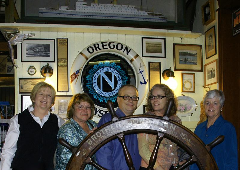Bridget, Barbara, Robert, Shannon and Twink 10-2011