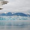 Last view of Hubbard Glacier as we sail out of Disenchantment Bay.