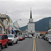 Downtown Sitka, Alaska (Lincoln Street).