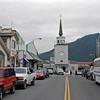 Downtown Sitka, Alaska (Lincoln Street).