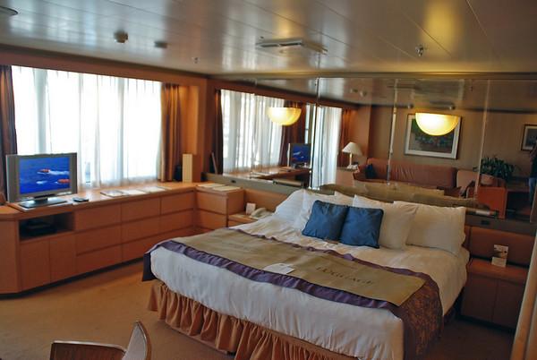 Our Deluxe Verandah Suite on the Holland America Zaandam.