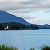 Russell Lighthouse near Sitka, Alaska.