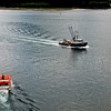 On the way to shore at Sitka.