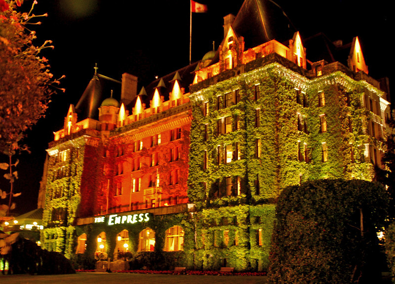The Empress Hotel in Vancouver, British Columbia was built between 1904-1908.