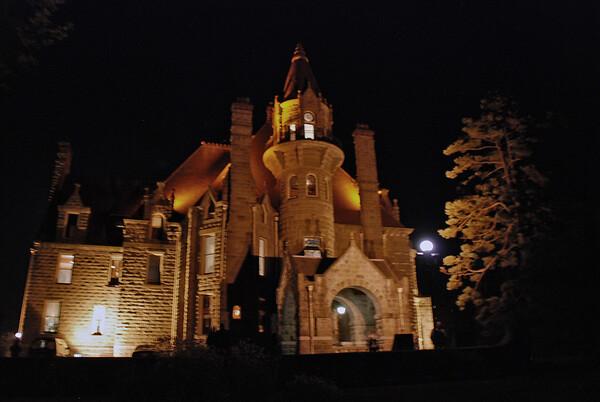 Craigdarroch Castle, Vancouver, British Columbia.