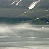 The coast of Alaska near Yakutat Bay and the Gulf of Alaska.