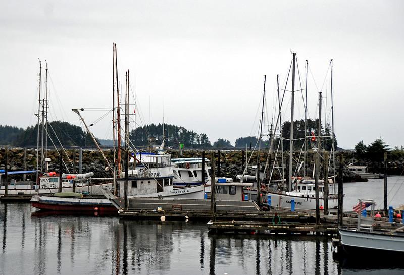 Crescent Harbor, Sitka, Alaska.