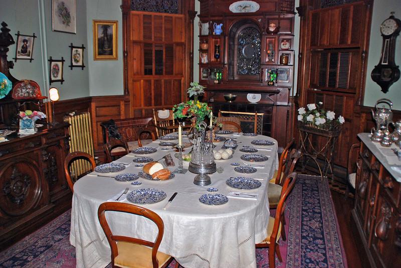 The Breakfast Room in Craigdarroch Castle.