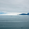Approaching Disenchantment Bay and Hubbard Glacier.
