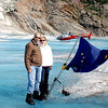 Ray and Jean on Mendenhall Glacier.