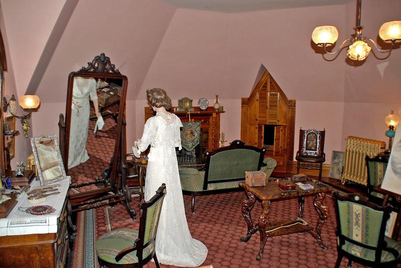 Effie's Bedroom in the Craigdarroch Castle.