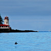 The Rockwell Lighthouse on an island near Sitka is also a bed and breakfast.