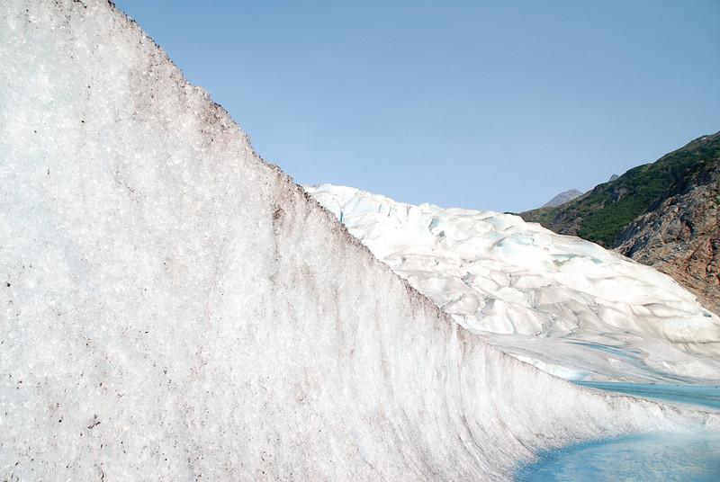 The Mendenhall Glacier.