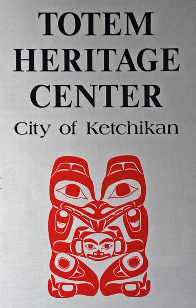 The Totem Heritage Center in Ketchikan, Alaska.