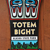 Totem Bight State Historical Park, a CCC project of the 1930's reconstructed many of the Tlingit and Haida totem poles.