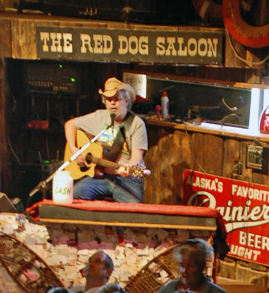 Inside the Red Dog Saloon, Juneau, Alaska.