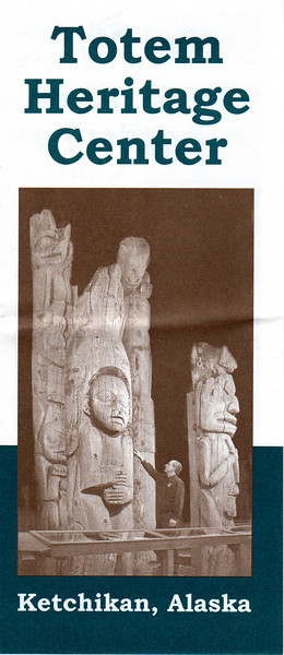 Totem Heritage Center brochure (page 1 of 3).