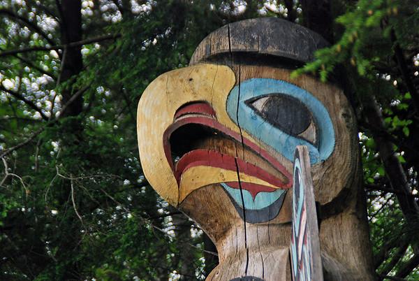 Totem Bight State Historical Park.