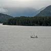 At sea on the way to Sitka, Alaska.