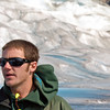 Our tour guide on the Mendenhall Glacier.