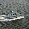This police boat escorted our ship until out of Baltimore waters.