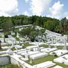 A graveyard in Bermuda.