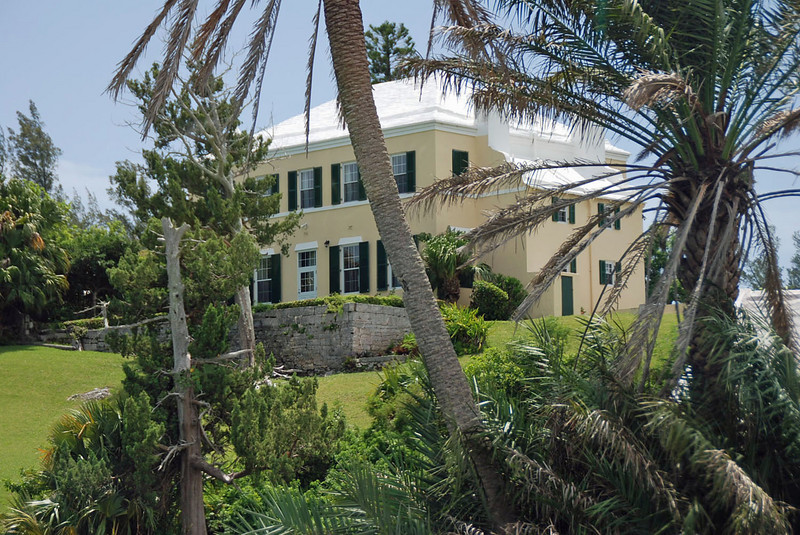 A Bermuda home now used as a rectory.
