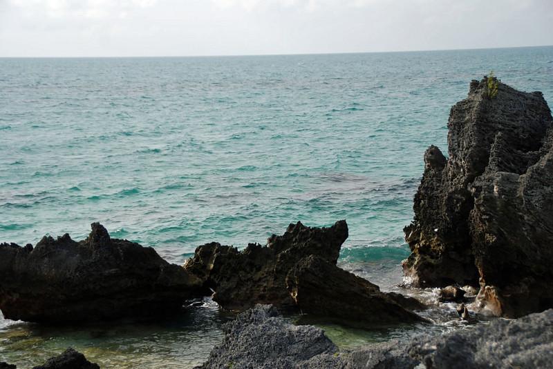 Seacoast near Tobacco Bay.