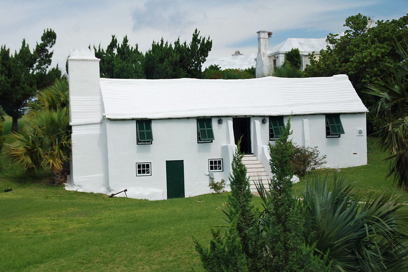 Carter House is one of the oldest buildings on Bermuda, constructed circa 1640.