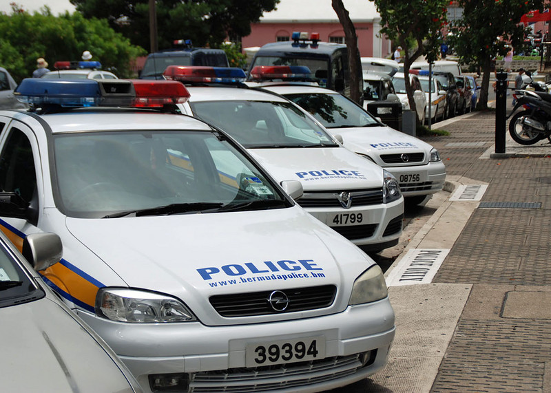 Police cars, Hamilton.