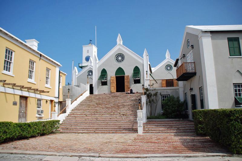 St. Peter's Church, St. George, Bermuda.
