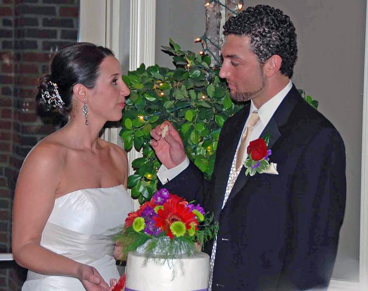 The cake ceremony.