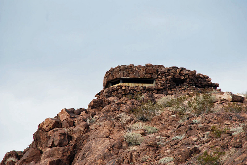 A lookout used for protection of the Hoover Dam.