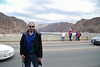 Ray at the Hoover Dam and Lake Mead.